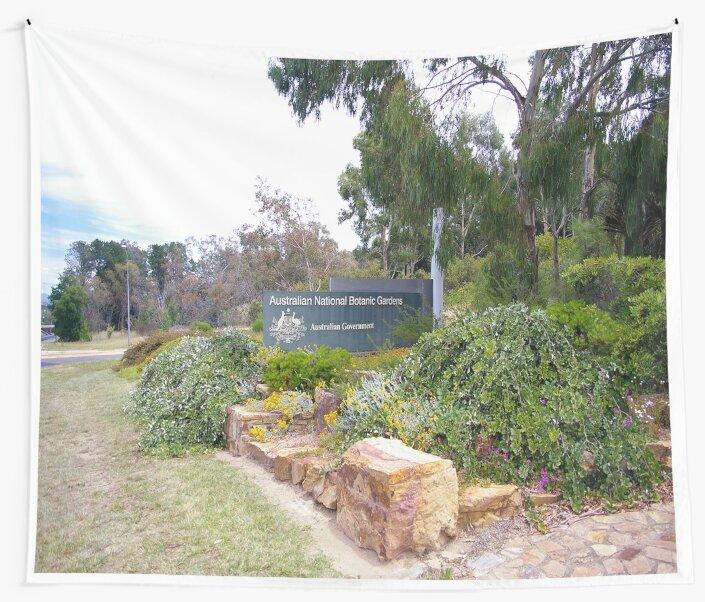 Australian National Botanic Gardens Sign by AusAdventures