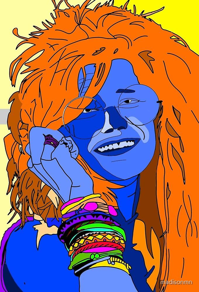 Janis Joplin-Pop Art by madisonmn