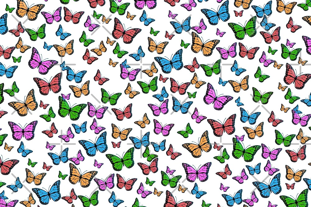 A beautiful butterfly collage  by onjcdesign