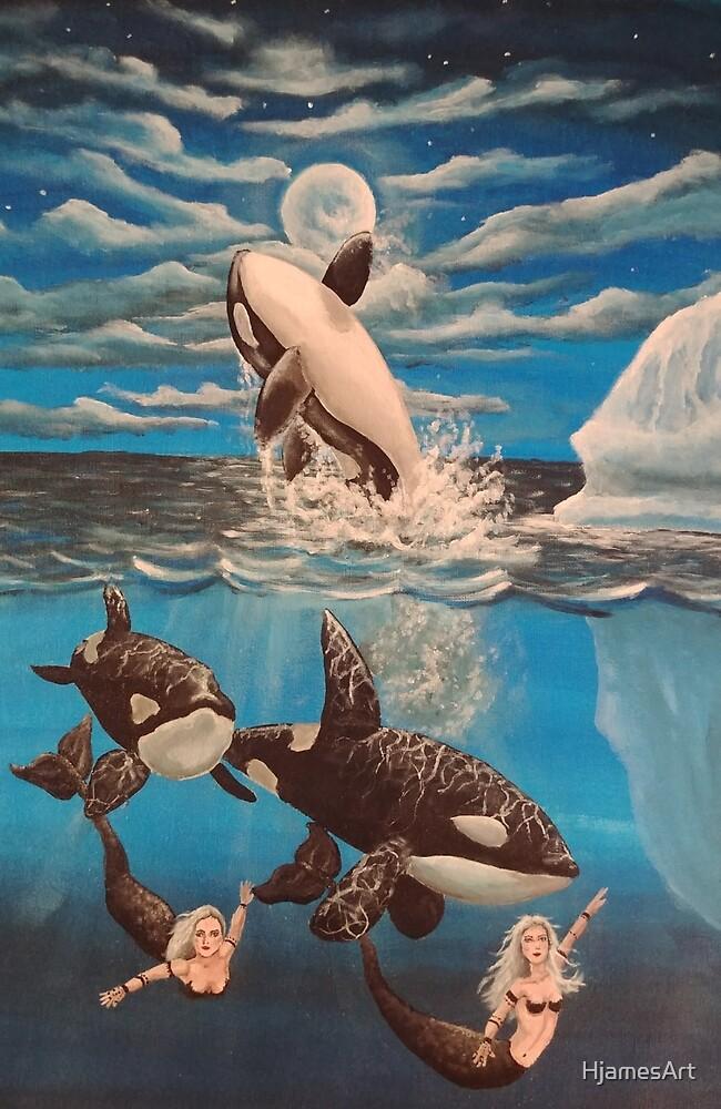 Orca by HjamesArt