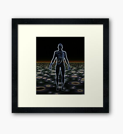 The Body Electric Framed Print