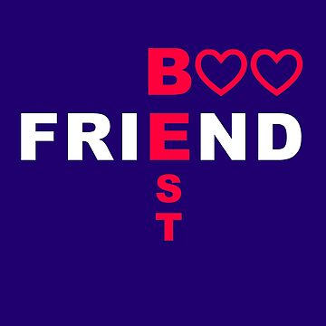 BFF Best friend - two hearts together forever by aronia