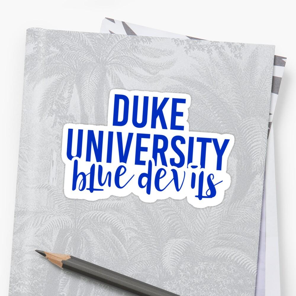 Duke University - Style 11 by Caro Owens  Designs