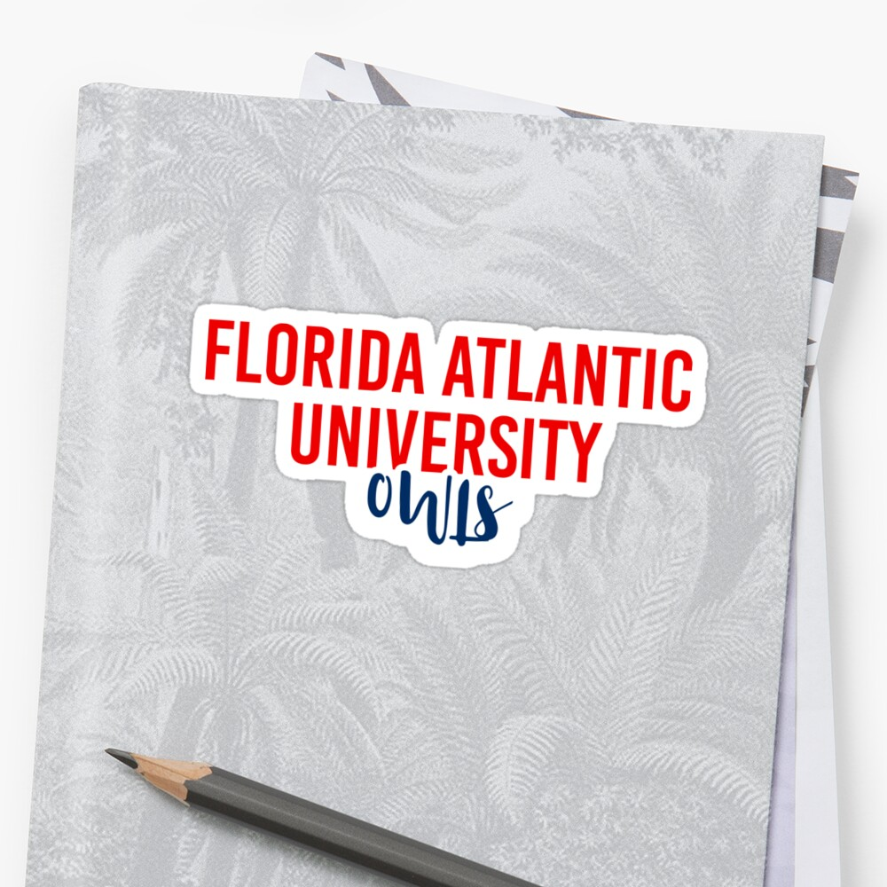 Florida Atlantic University - Style 11 by Caro Owens  Designs