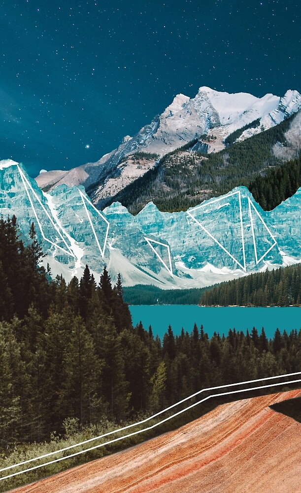 Mountain Collage by Casey O'Brien