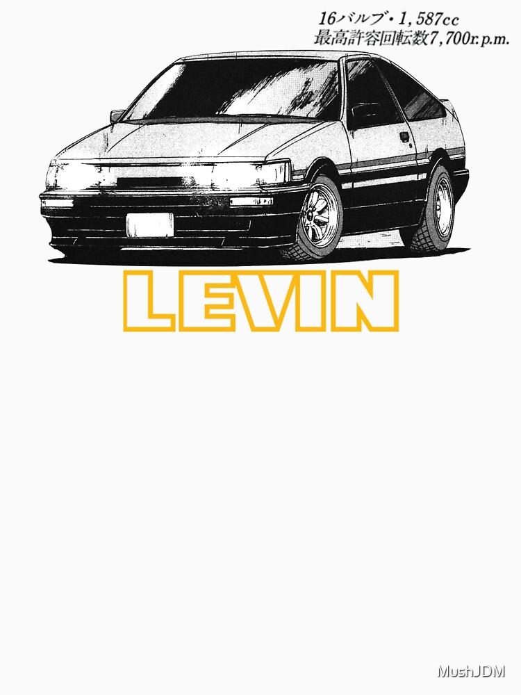 AE86 Levin by MushJDM