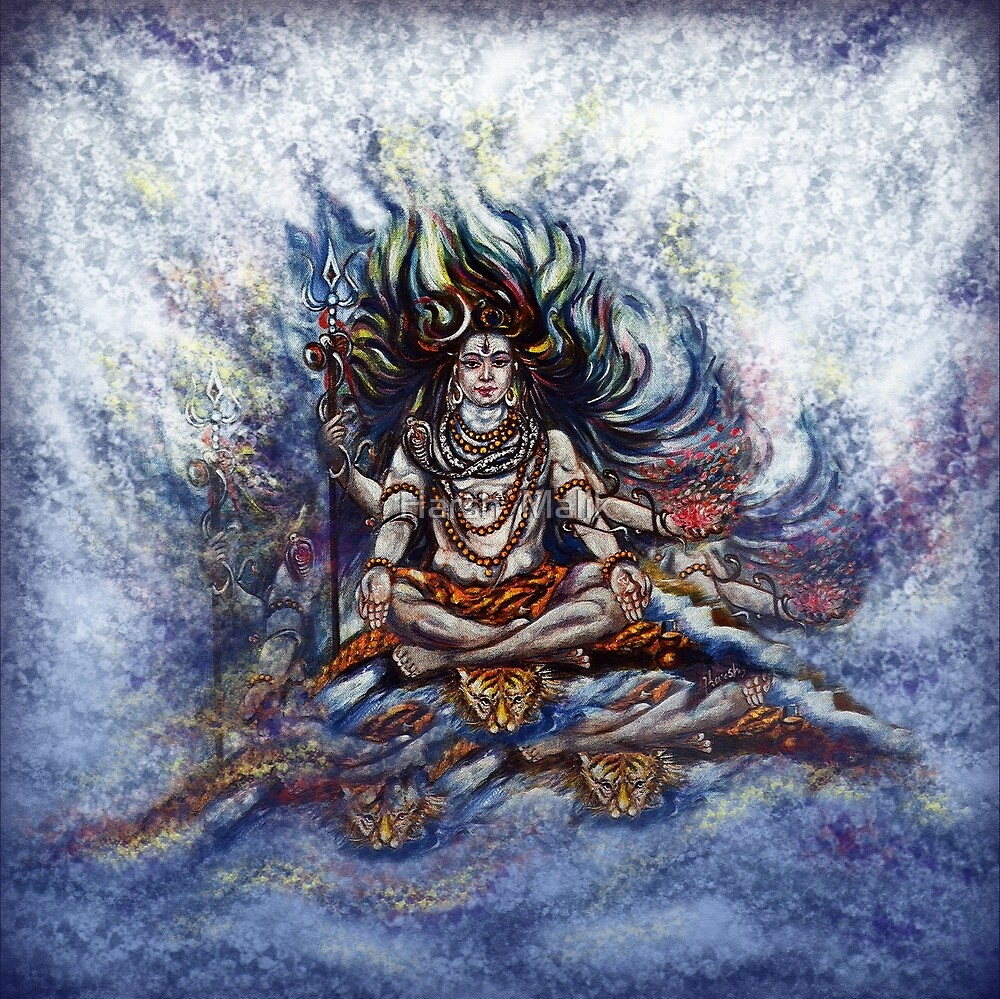 SHIVA - Blessings  by Harsh  Malik