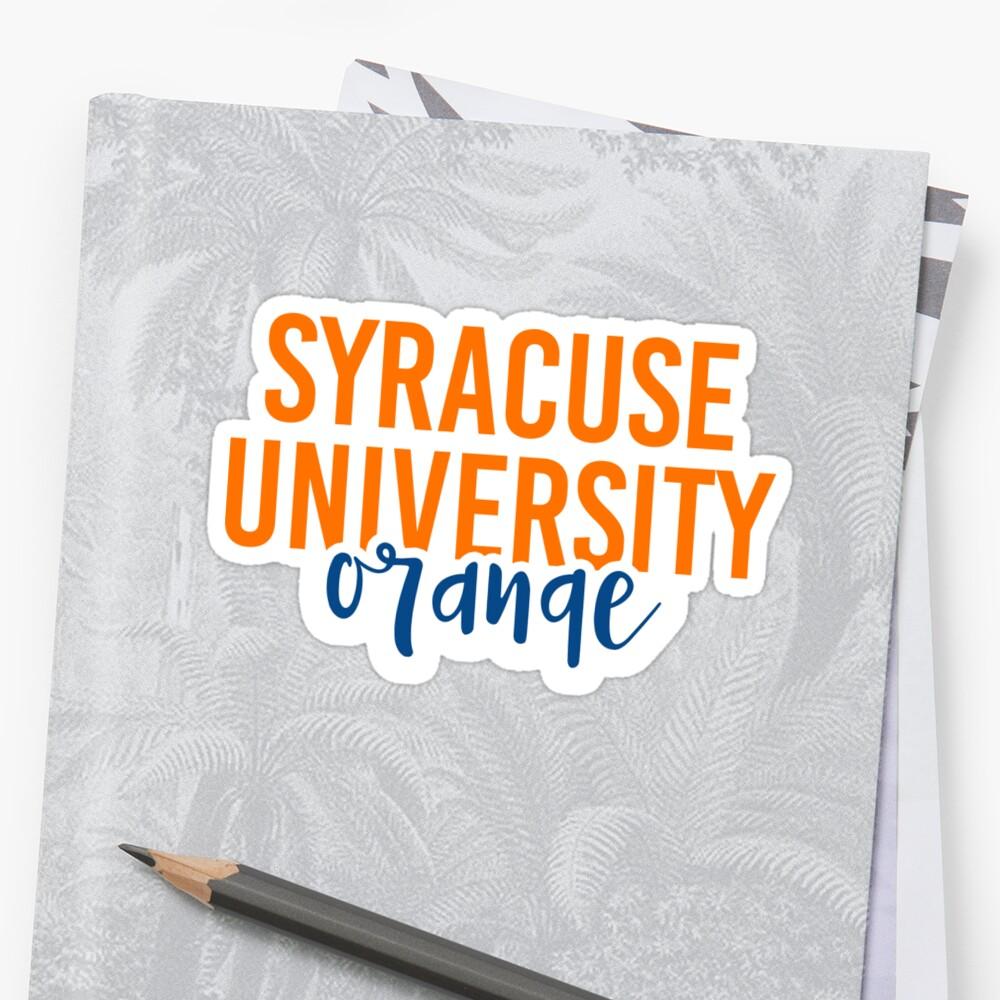 Syracuse University - Style 11 by Caro Owens  Designs