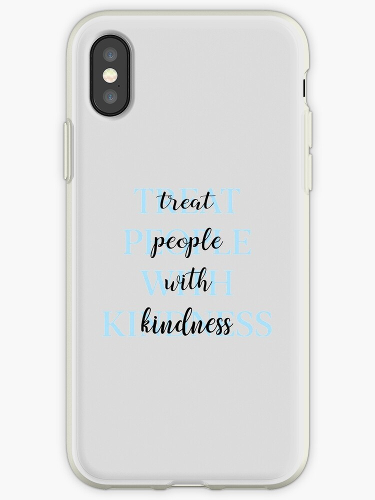 Treat People With Kindness (Blue-Version 2) by meanicolexx