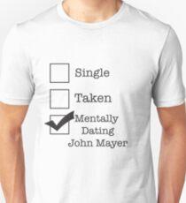 Single Taken John Mayer Unisex T-Shirt