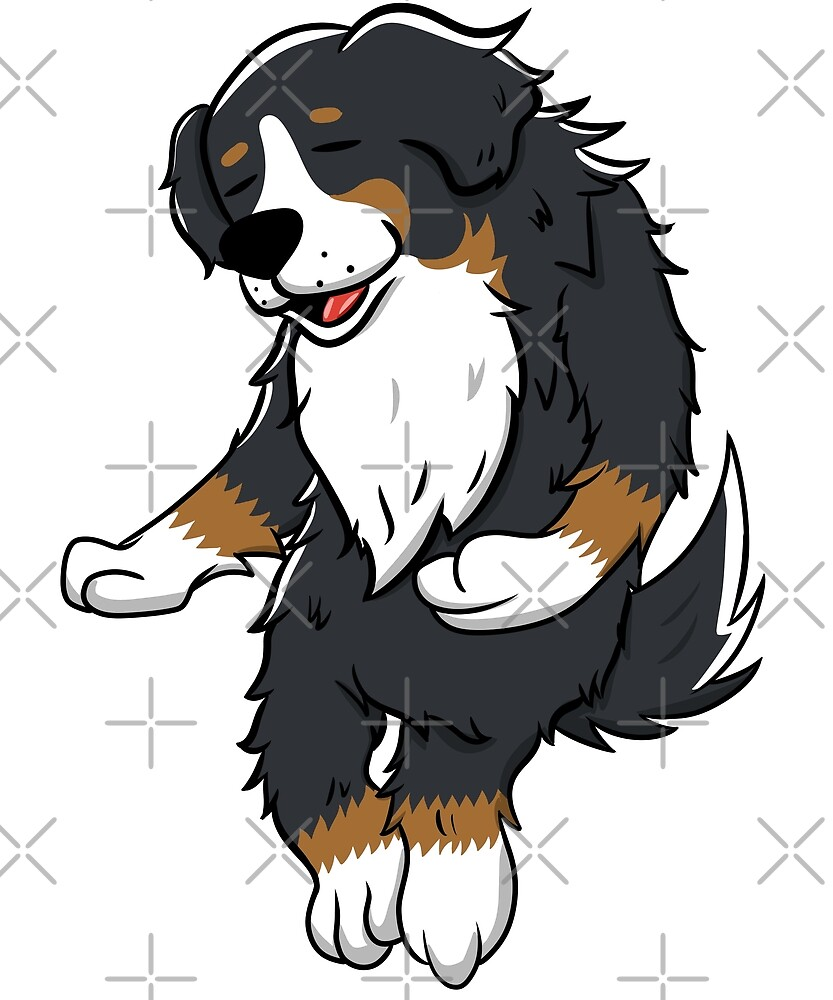 Funny Bernese Mountain Dog Wiggle Dance by ilovepaws