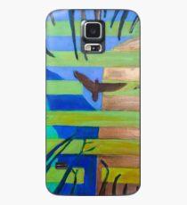 Hexagram 57 Xun (Penetrating Wind) Case/Skin for Samsung Galaxy