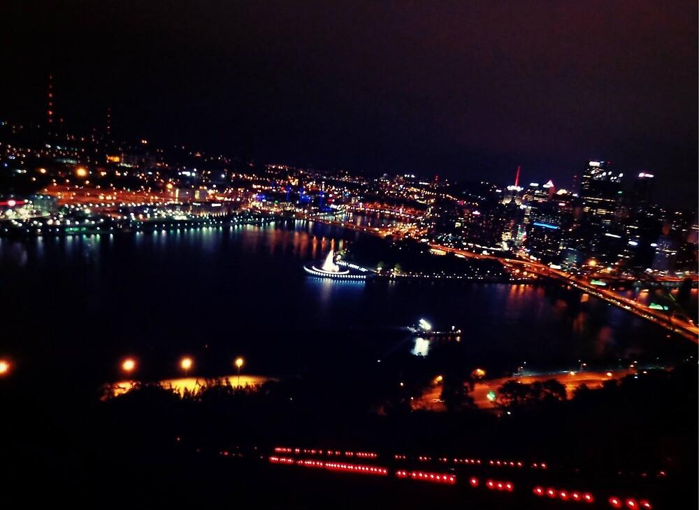 Steel City Lights by CeCe-Artist