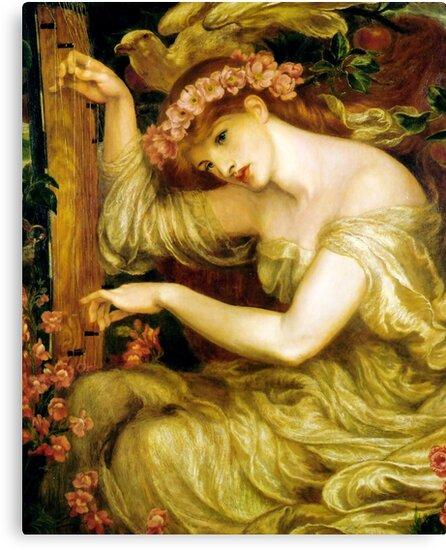 A Sea Spell - Dante Gabriel Rossetti  by forgottenbeauty