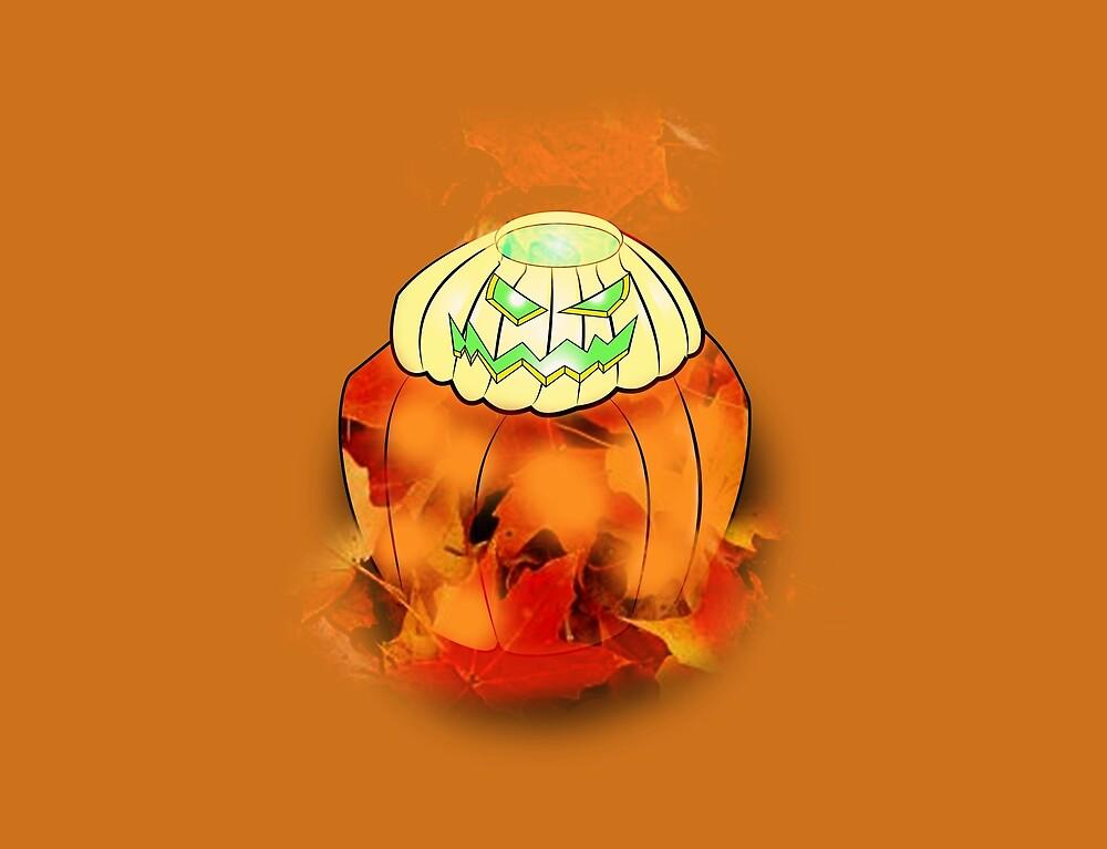 Halloween Pumpkin Spice King by LeVar Anthony