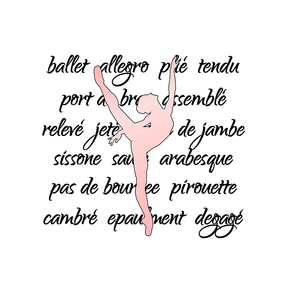 Ballet Terminology Dance Teacher square by Dancethoughts