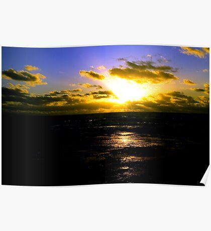 Kalbarri Sunset Poster