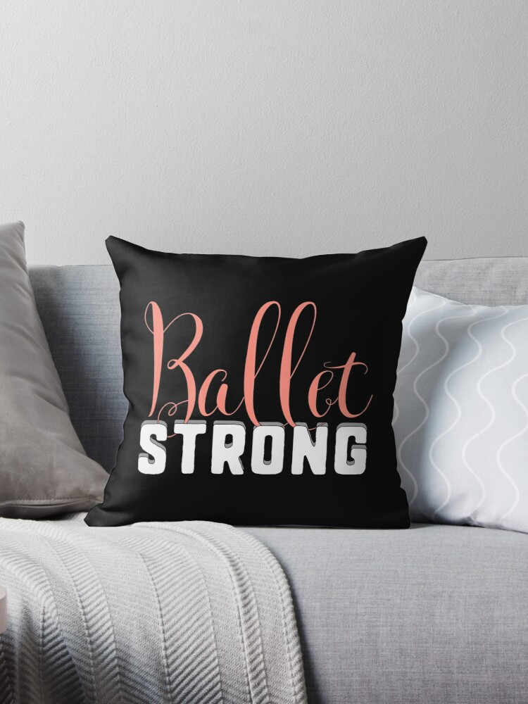 Ballet Strong Dance Teacher or Student for dark square by Dancethoughts