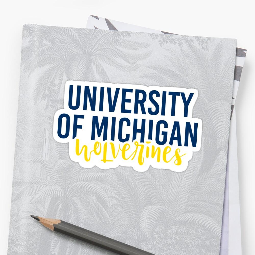 University of Michigan - Style 11 by Caro Owens  Designs