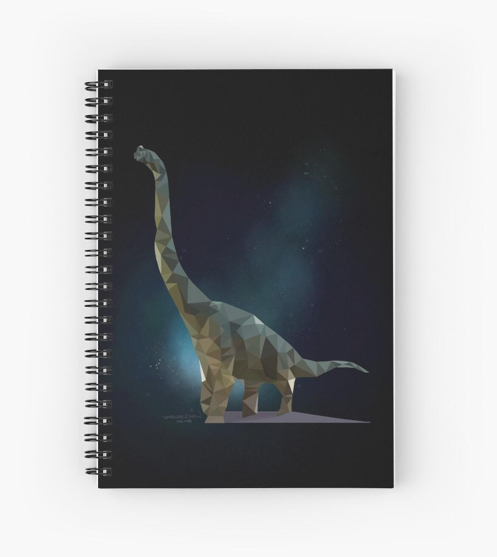 Dreamy Brachiosaurus by artloadrian