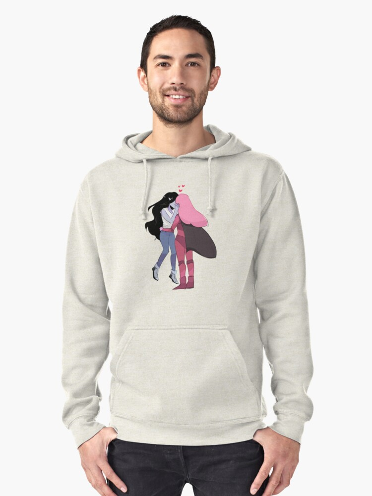 AT: THEY FINALLY KISSED!! Pullover Hoodie Front