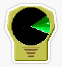 LEDAR from Snail Trek Sticker