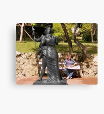 Love of the armour Canvas Print