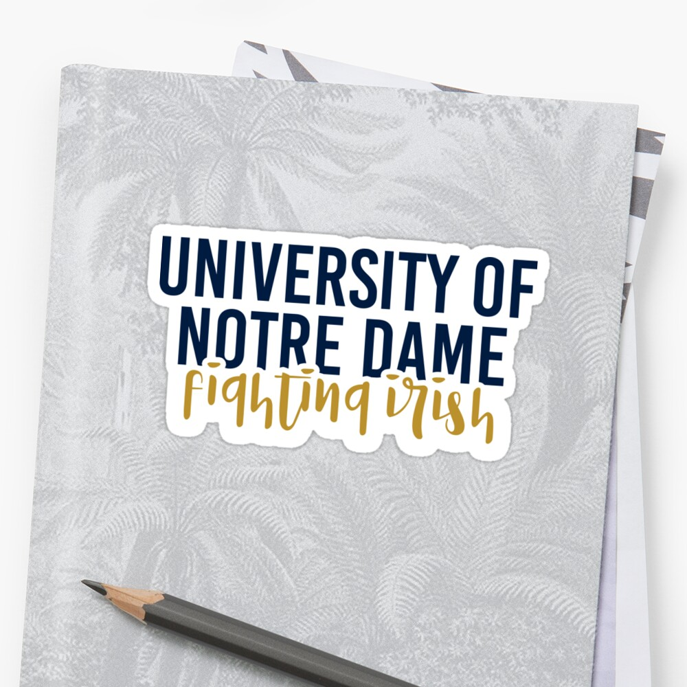 University of Notre Dame - Style 11 by Caro Owens  Designs