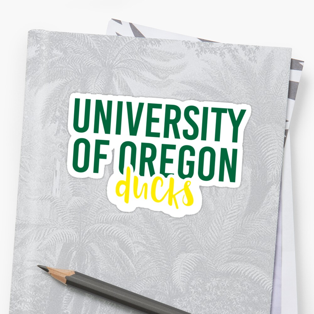 University of Oregon - Style 11 by Caro Owens  Designs