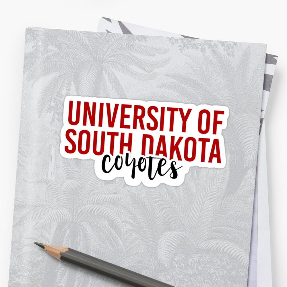 University of South Dakota - Style 11 by Caro Owens  Designs