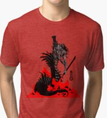 The Game of Kings, Wave Six: The Black Queen's Rook Tri-blend T-Shirt
