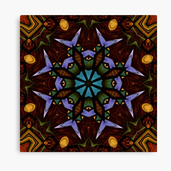 The Wheel of Life - Mandala Canvas Print