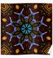The Wheel of Life - Mandala Poster