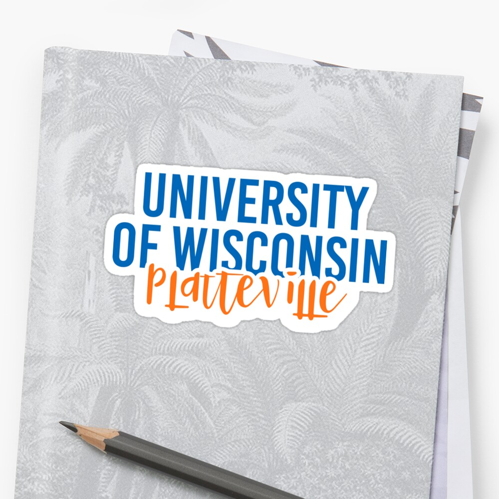 University of Wisconsin Platteville - Style 11 by Caro Owens  Designs