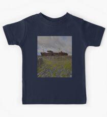 The Plassey - a wrectangular view Kids Tee