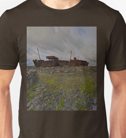 The Plassey - a wrectangular view T-Shirt