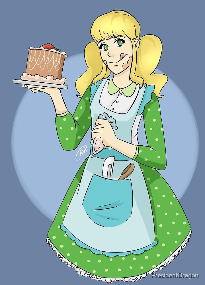 Cake Girl by PresidentDragon