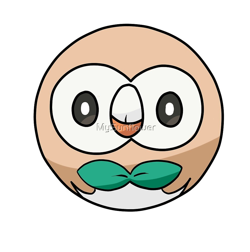 Rowlet by MySunflower