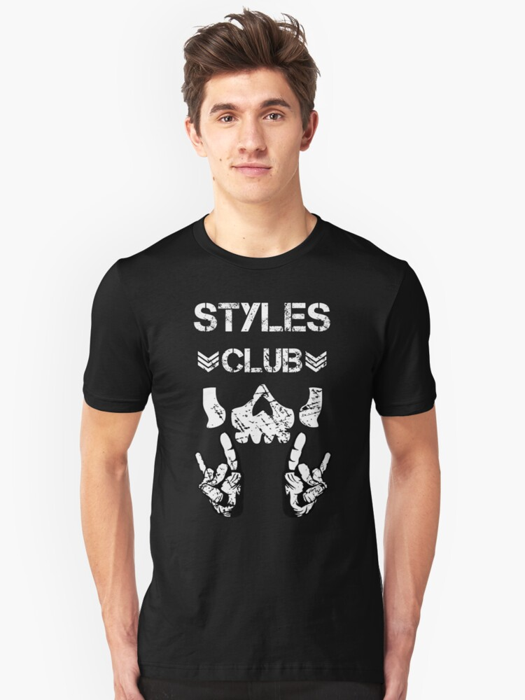 Styles Club Unisex T-Shirt Front