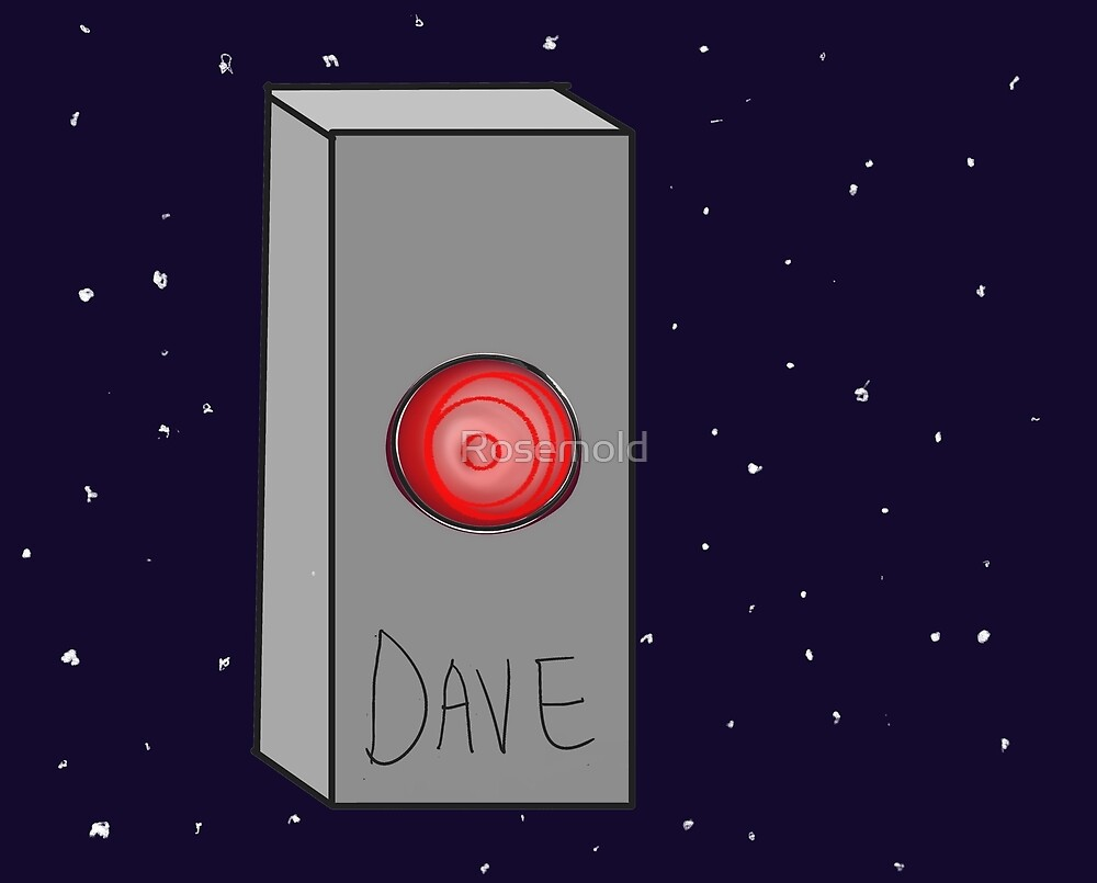 HAL Dave Space Rectangle by Rosemold