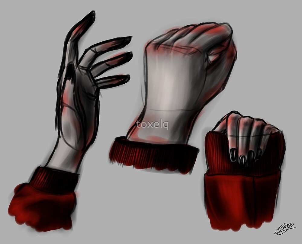 Hand study - Colour by toxelq