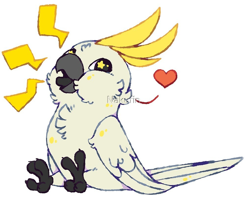 Screaming Cockatoo by Nakufin