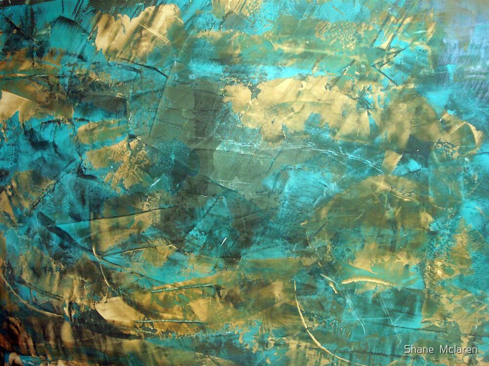 Aquatic Venetian Plaster by Shane  Mclaren