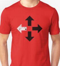 Außenseiterpfeile Slim Fit T-Shirt