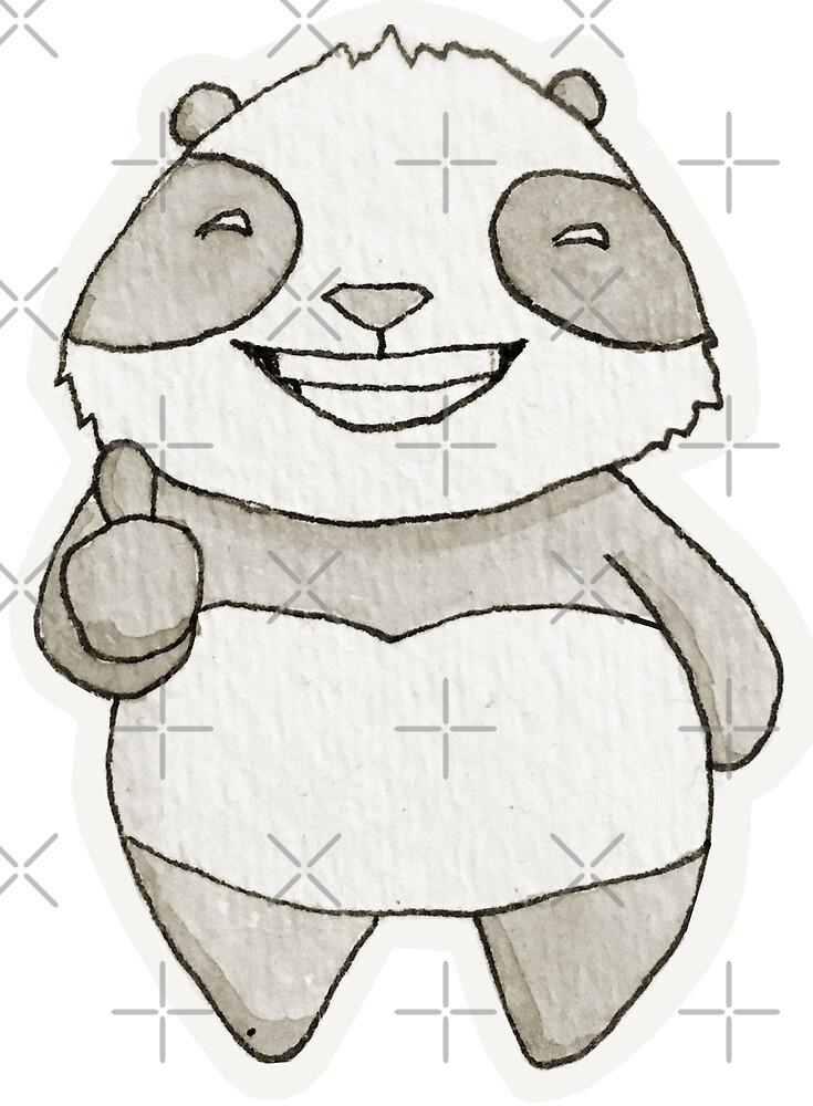 Panda Thumbs Up by pandasprinkle
