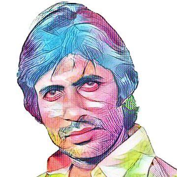 Amitabh Bachchan by justrachna