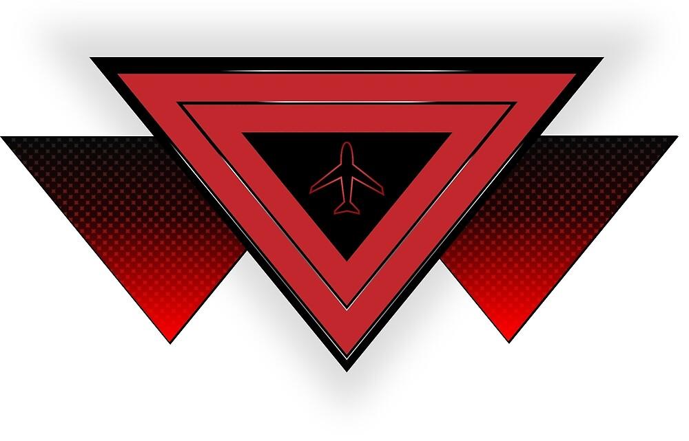 Retro Triangle by Nicholas King