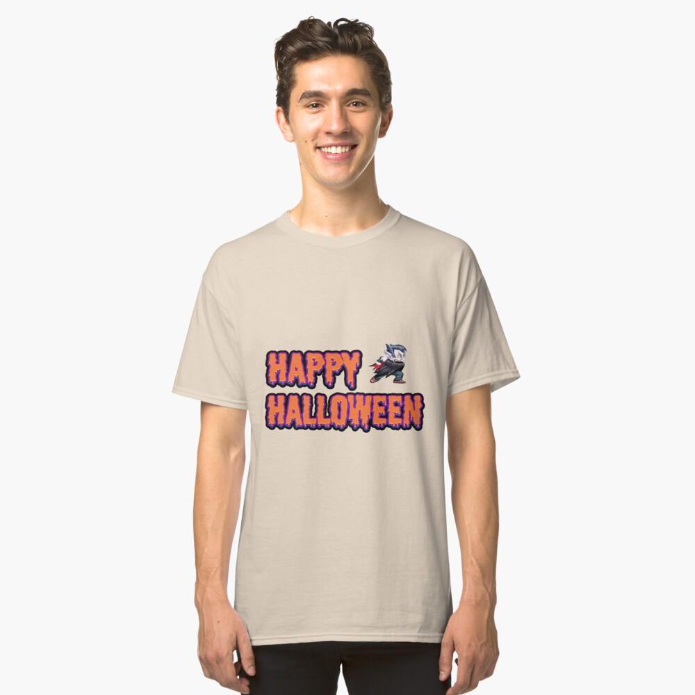 Awesome Fun Halloween t-shirt Classic T-Shirt Front