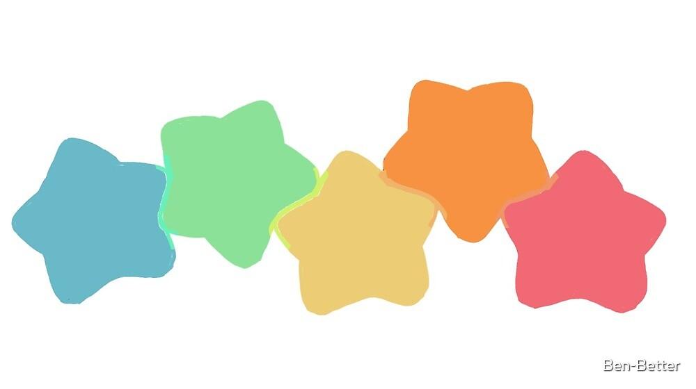 Rainbow Star by Ben-Better