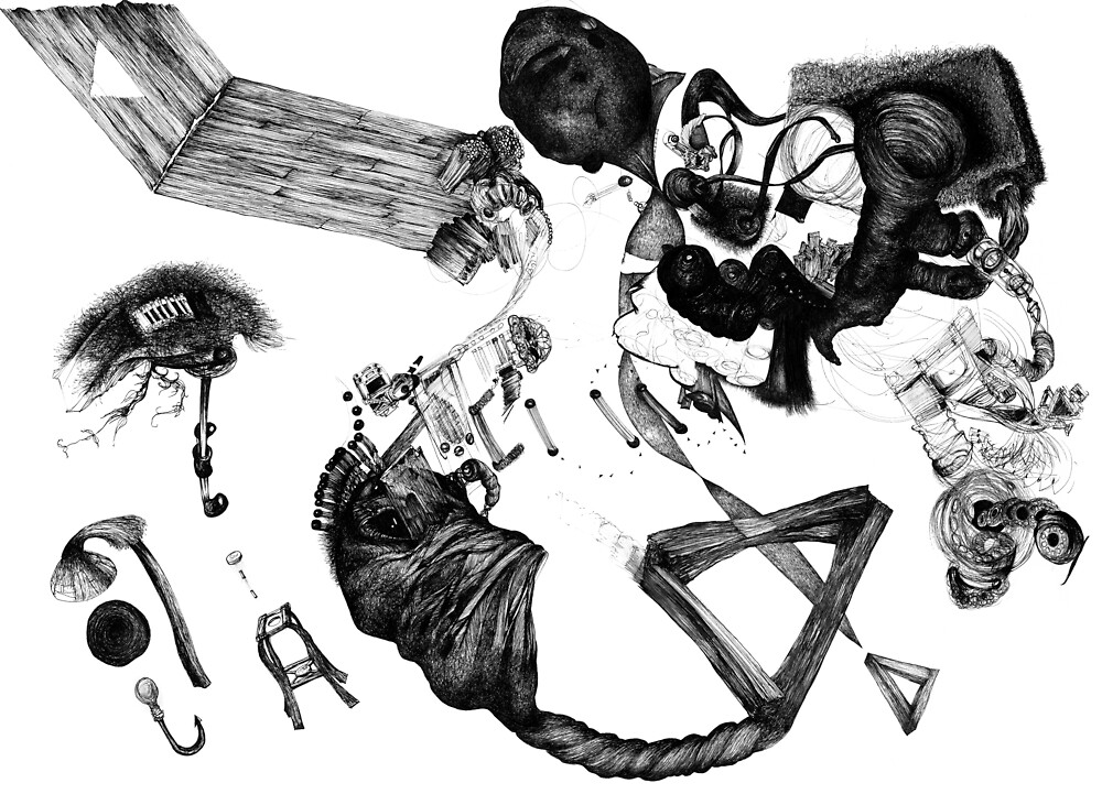 Pell Mell 2    2darts,  by Ian Farnbach
